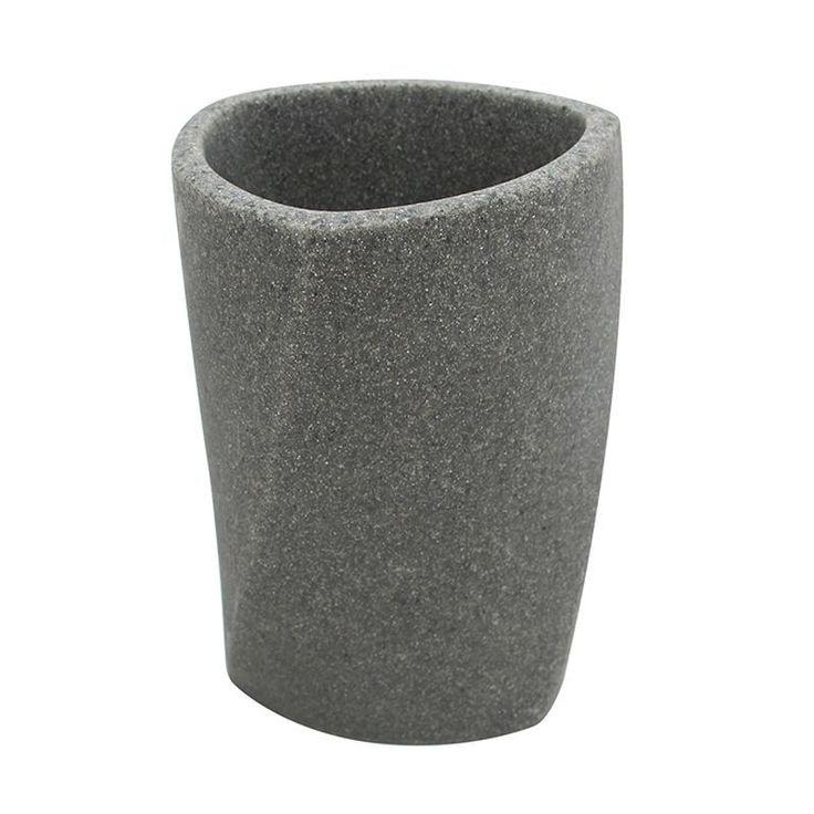 Geo Stone Tumbler, Grey