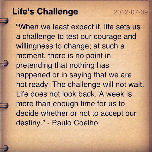 Lifeu0027s Challenge