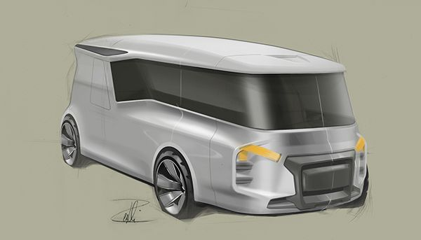 ..upcoming roomy vehycles.. on Behance
