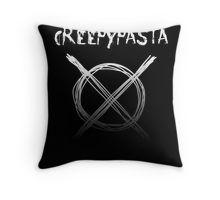 Creepypasta Throw Pillow