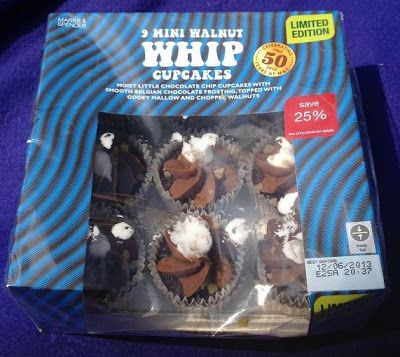 Foodstuff Finds: Walnut Whip Mini Cup Cakes (Marks & Spencer) [By @Cindy Poole]