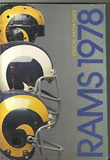 Los Angeles Rams 1978 media guide