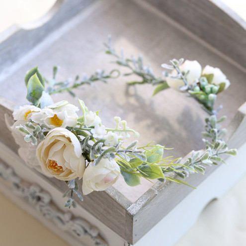 Sylvia Ranunculus Peony Silk Flower Crown and Hair Comb // Hair Vein // Wedding / Prom / Bridesmaids / Flower girl / Coachella