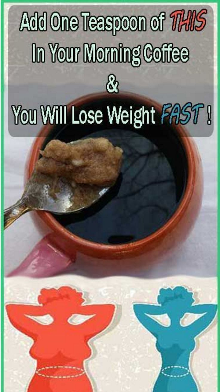 One teaspoon will do amazing things to your body and one of them is getting rid of weight