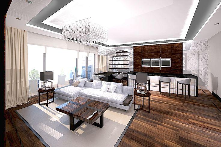 Dominika J. Rostocka - Architekt | Apartment in Warsaw New ArtDeco