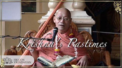 Srimad Bhagavatam Class by H.H.Bhakti Anugraha Janardana Swami at ISKCON Vrindavan, 07.03.2018 (video)