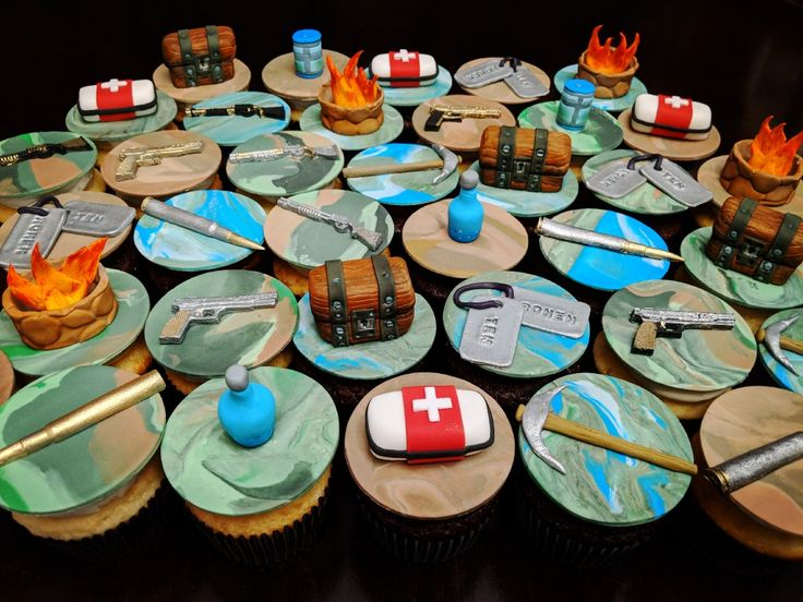 Fortnite Battle Royale Cupcakes Fortnite Battleroyale