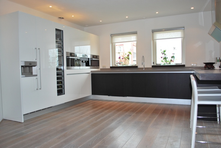 Gaggenau wijnkast en side by side koelkast in varenna keuken keuken pinterest side by side - Keuken varenna ...