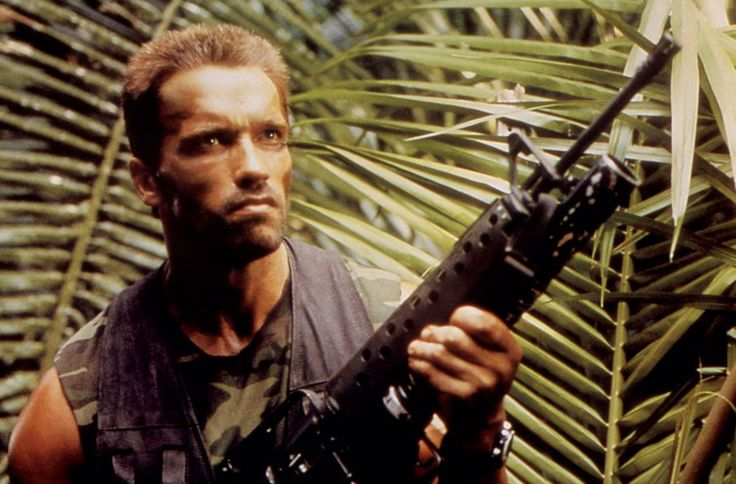 PREDATOR, Arnold Schwarzenegger, 1987, TM and Copyright (c)20th Century Fox Film Corp. All rights reserved.