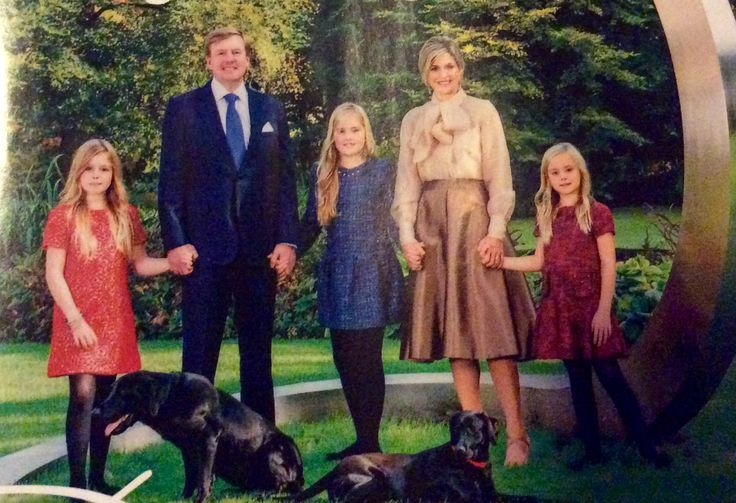Christmascard photo, photo by Jeroen van der Meyde. Picture published in Dutch Royalty magazine January 2015.
