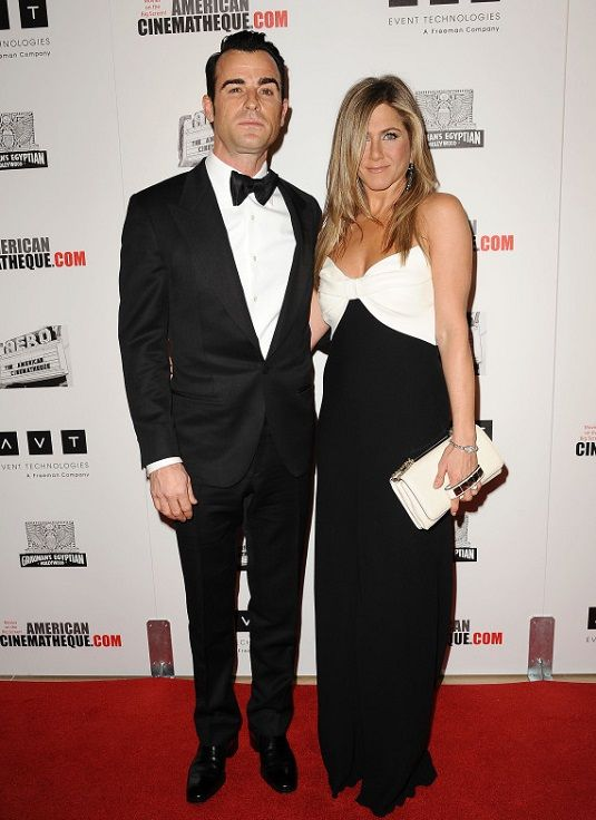 Jennifer Aniston with Justin Theroux