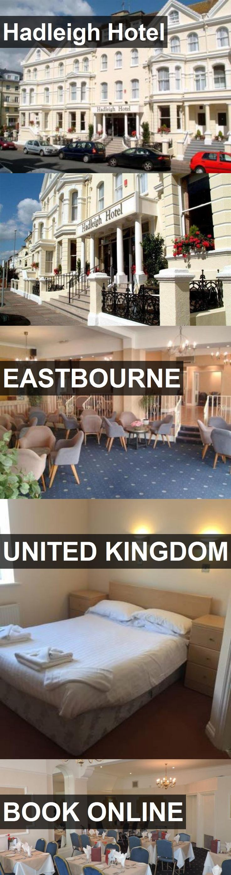 Hadleigh Hotel in Eastbourne, United Kingdom. For more information, photos, reviews and best prices please follow the link. #UnitedKingdom #Eastbourne #travel #vacation #hotel
