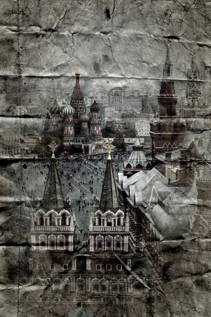 Москва. Красная Площадь. Ретро Москва. фото: Ирина Майсова