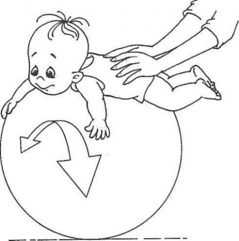 УПРАЖНЕНИЯ НА ФИТБОЛЕ - Поделки с детьми | Деткиподелки