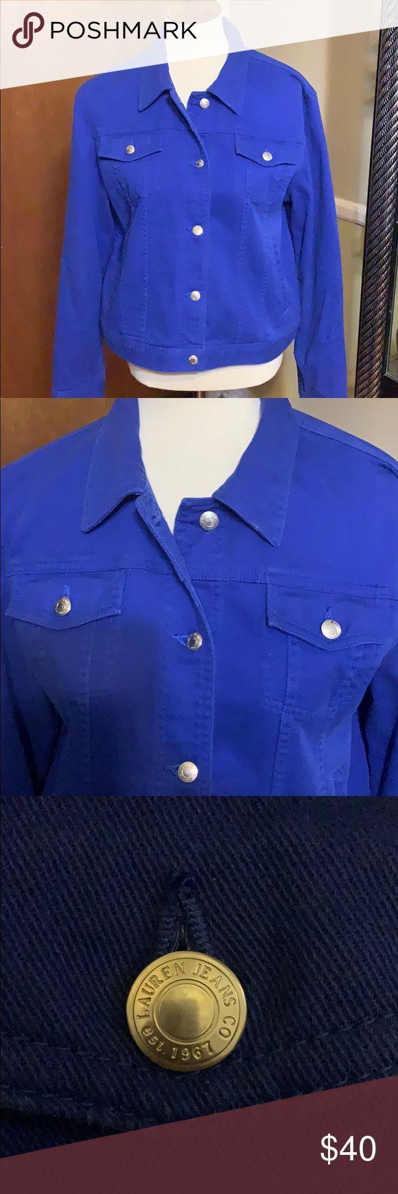Lauren Ralph Lauren Royal Blue Jean Jacket Xl Very Nice Blue Jean Jacket In Royal Blue By Laurenjeans Co Ra Royal Blue Jeans Blue Jean Jacket Nice Blue Jeans [ 1740 x 580 Pixel ]