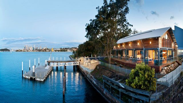 Deckhouse on the Woolwich Dock foreshore is the ideal destination venue with beautiful views of Sydney Harbour.