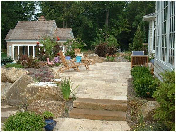 15 best Travertine patios images on Pinterest | Travertine ... on Travertine Patio Ideas id=93160