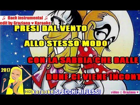 SPECCHI RIFLESSI Mina e Celentano karaoke Playback instrumental wav edit...