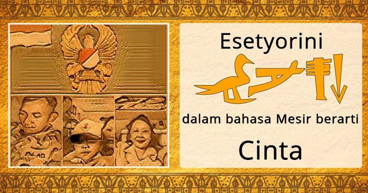 Apa Arti Namamu di Mesir Kuno?
