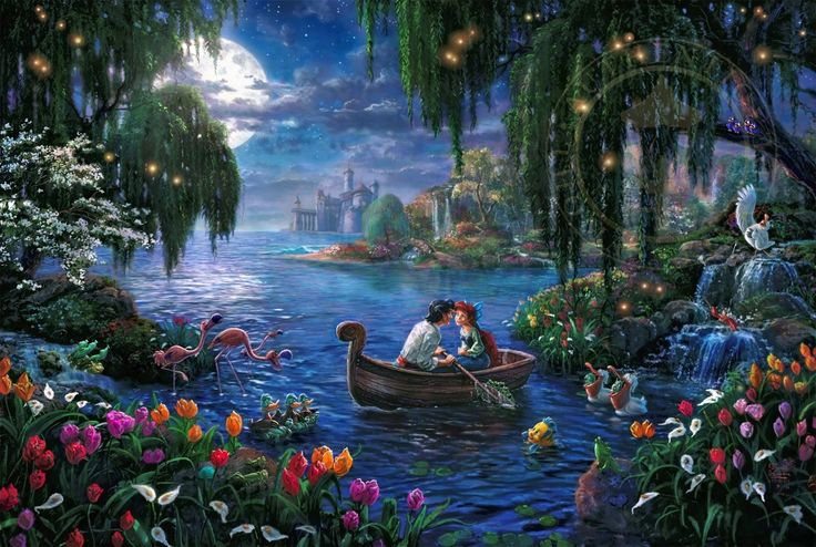 Thomas Kinkade Little Mermaid 2 (2015)