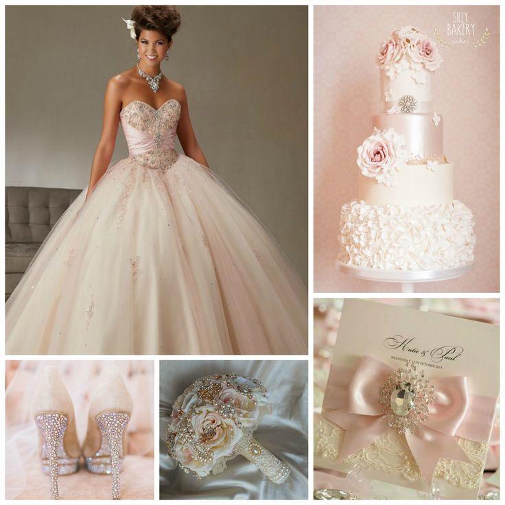 Blush Pink Themed Quinceanera   Quinceanera Ideas   Blush Pink Wedding Ideas  