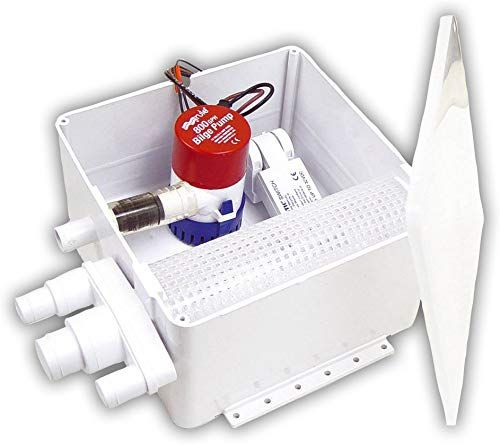 Amazing offer on Rule Shower Drain Systems, 500 800 GPH, 3 ...