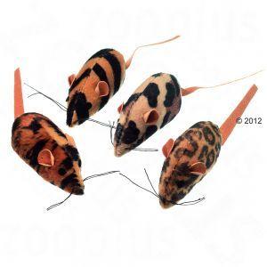 Leopardihiiri kissanmintulla 2,49€ (vain tälläsiä hiiriä!)