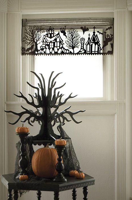 halloween valance...i want this!!!