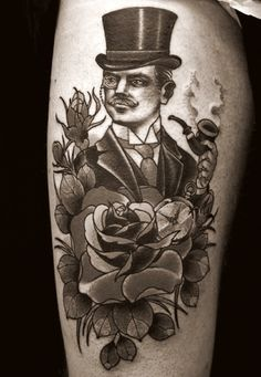 on sale b2384 c8eff tattoos of victorian gentleman - Google Search