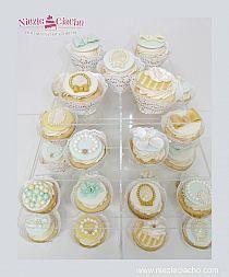 Biżuteria, bransoletki, brożki, cupcake, babeczki, muffinki, słodki stół, Tarnów