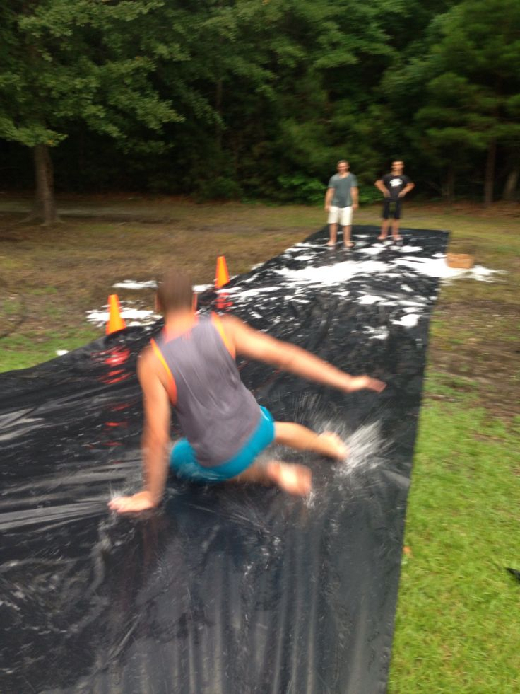 Youth group wet and wild messy game night. Great summer activity for church youth groups...list of activities & supplies included!