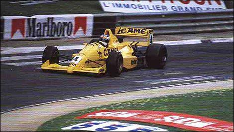 Jean Alesi - Reynard 89D Cosworth DFV/Smith - Eddie Jordan racing - XLIX Grand Prix Automobile de Pau 1989