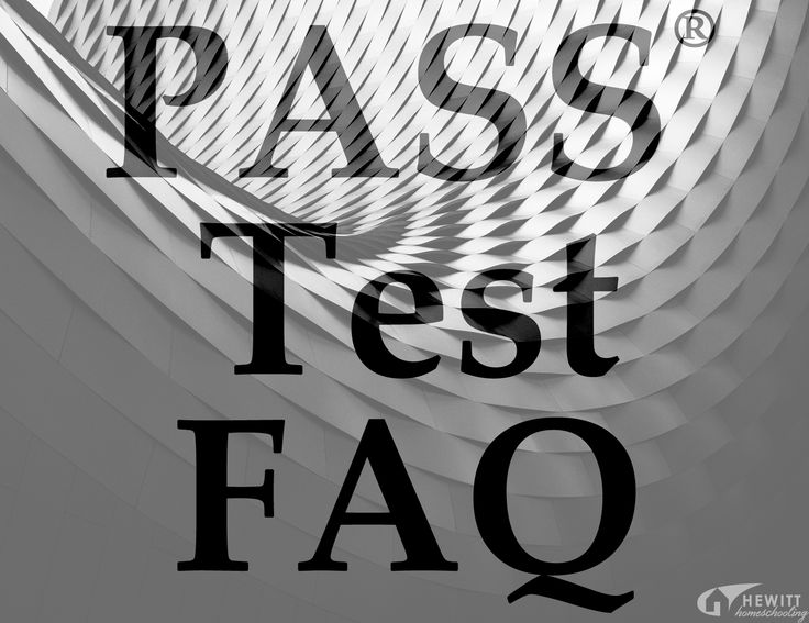 The PASS® Test FAQ: We've prepared our most frequently asked questions about the PASS® test. Feel free to contact us by email or phone if you don't find the answers you're looking for.
