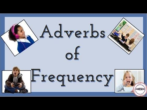 Daily Routines : Adverbs of frequency - English Language - YouTube
