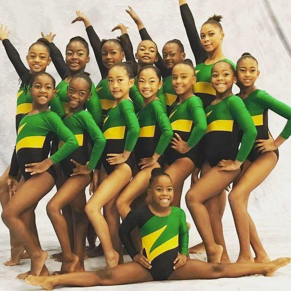 Jamaica gymnasts