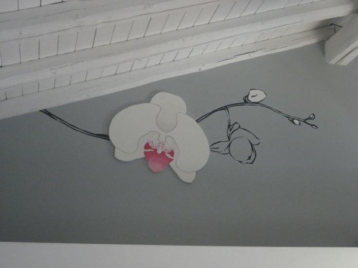 """Decorazione murale """"orchidea"""""""