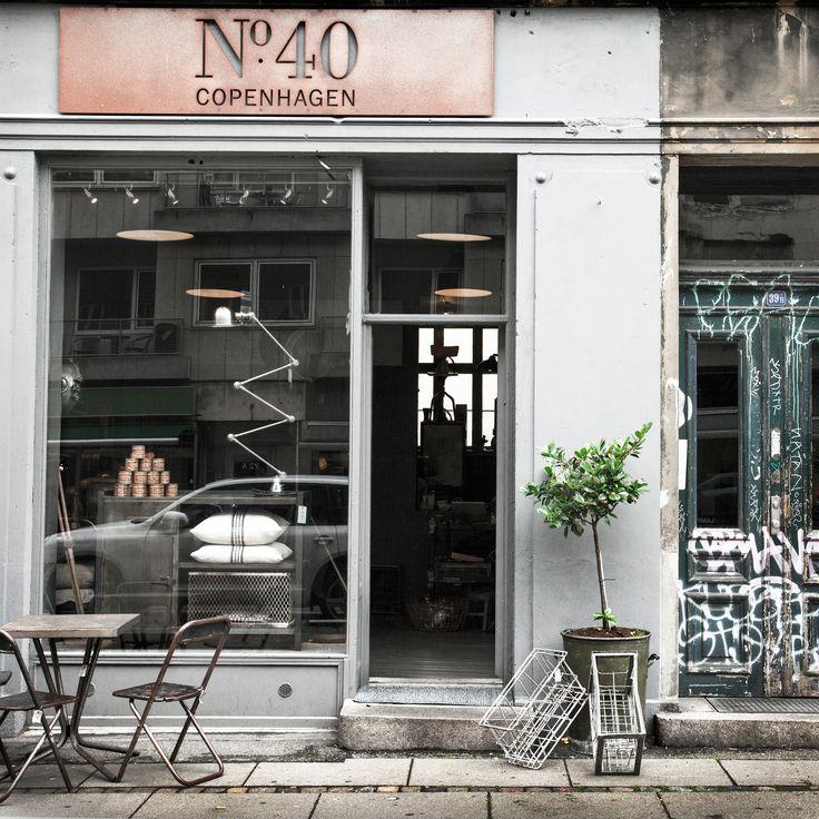 Shop No. 40 Copenhagen. Street Photography.