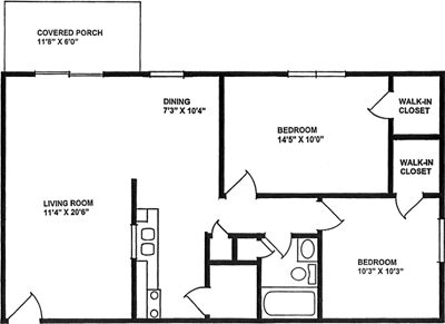 Small two bedroom apartment floor plans   Google Search33 best Floorplans images on Pinterest   Apartment floor plans  . Small Two Bedroom Apartment Floor Plans. Home Design Ideas