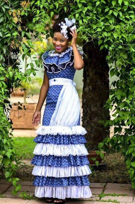 Shweshwe Weddings 2020 Traditional Dresses With Images