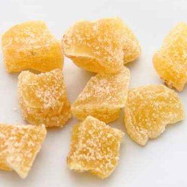 Recette bio : Gingembre confit au sucre