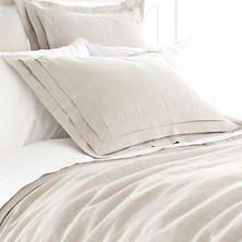 annieselke.com Bedding Pleated-Linen-Natural-Duvet-Cover p PLNDC