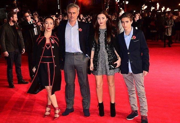 Mourinho's family