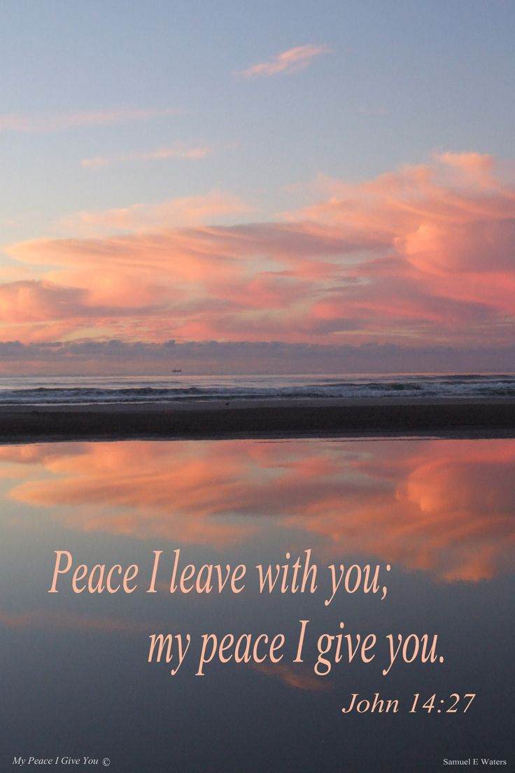 My Peace I Give You poster