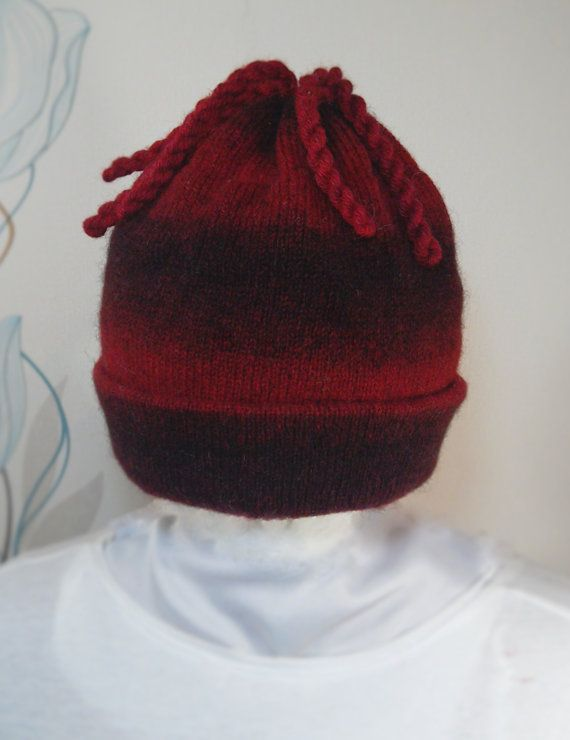 SALE Multi-colored winter hat for adults by LanaNere on Etsy