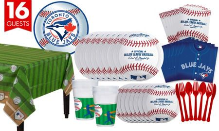 MLB Toronto Blue Jays Party Supplies - Party City Canada #PartyWithMLB