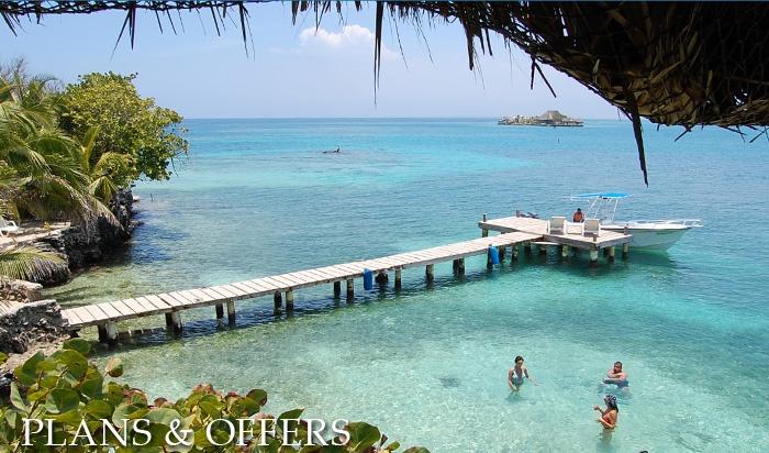 Hotel Isla del Pirata - Rosario Island Archipelago - Cartagena, Colombia
