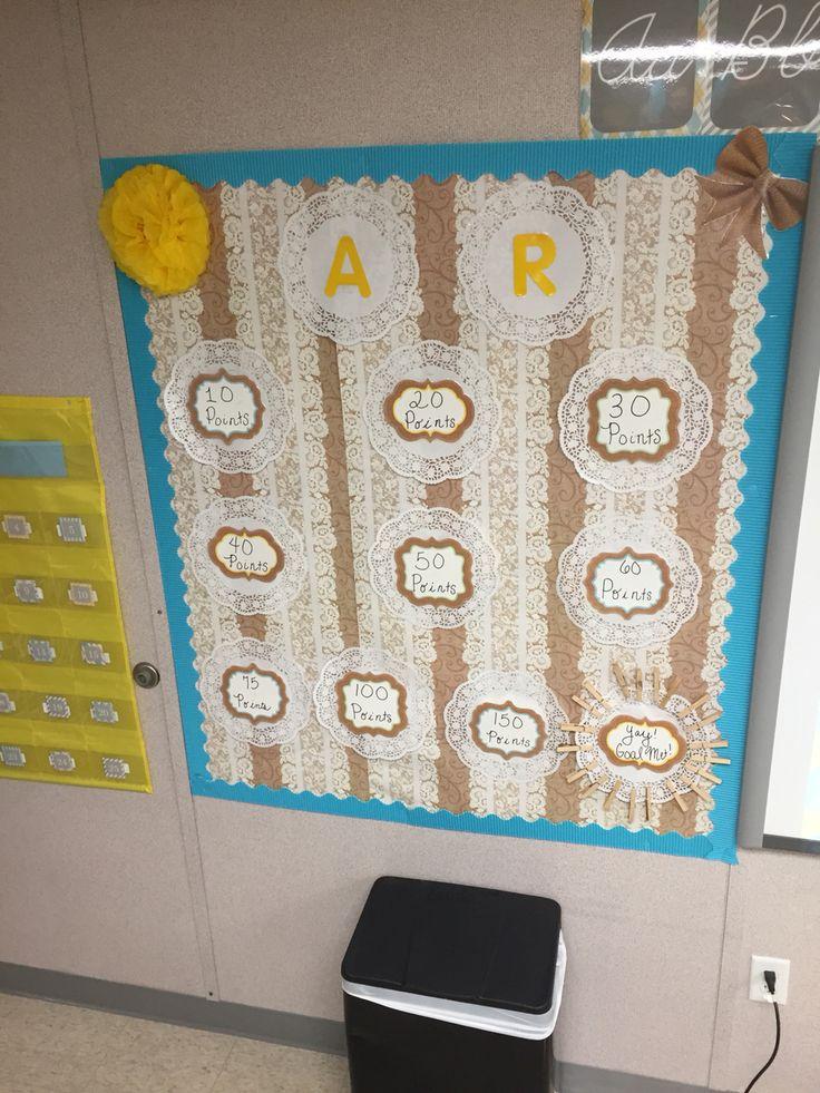 Classroom Beach Decor ~ Ar accelerated reader bulletin board display mrs kondo s