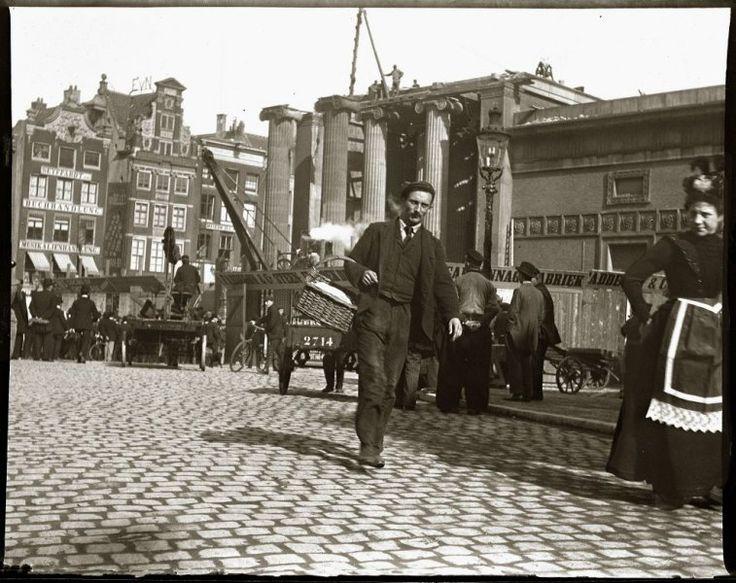 Amsterdam - De Dam 1903