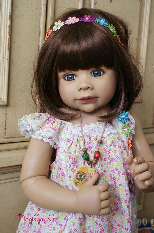 Cute Masterpiece Doll Rory Saffron By Monika Levenig