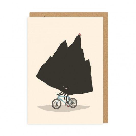 Mountain Biking Greeting Card at http://www.ohhdeer.com